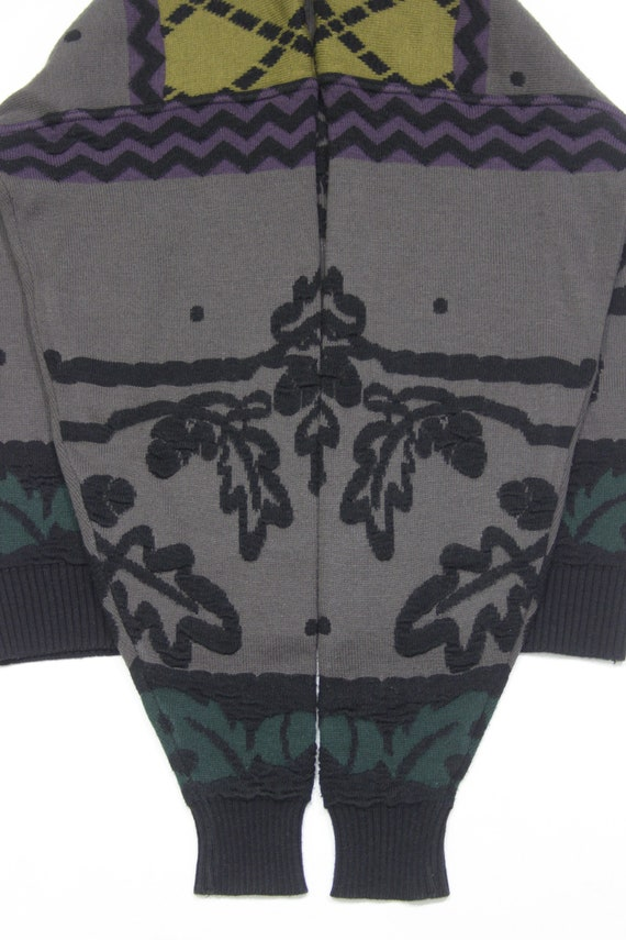 Carlo Colucci Wool Embroidered Sweater - image 6