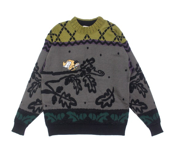 Carlo Colucci Wool Embroidered Sweater