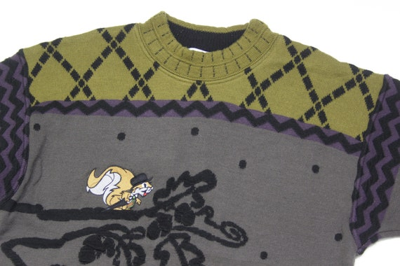 Carlo Colucci Wool Embroidered Sweater - image 3