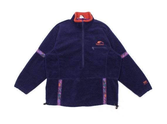 Helly Hansen 90S Logo Fleece Jacket Vintage