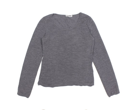 Jil Sander 90S Wool Twist Sweater Vintage