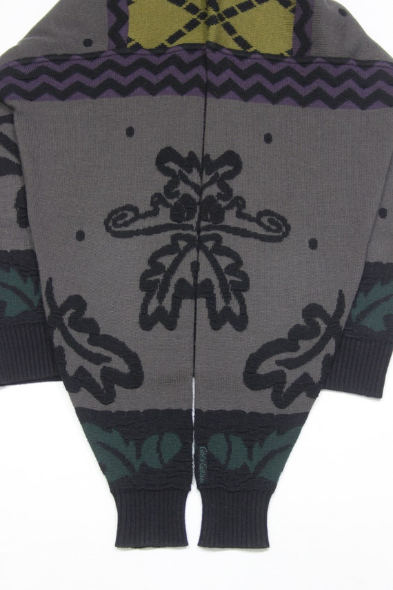 Carlo Colucci Wool Embroidered Sweater - image 5