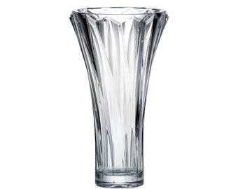 BOHEMIA Czech crystal glass Vase 28 cm