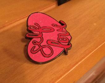 Self Love enamel pin