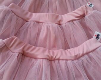 Handmade Pink Princess Tutu Double Layers skirt 2018/Middie Tutu