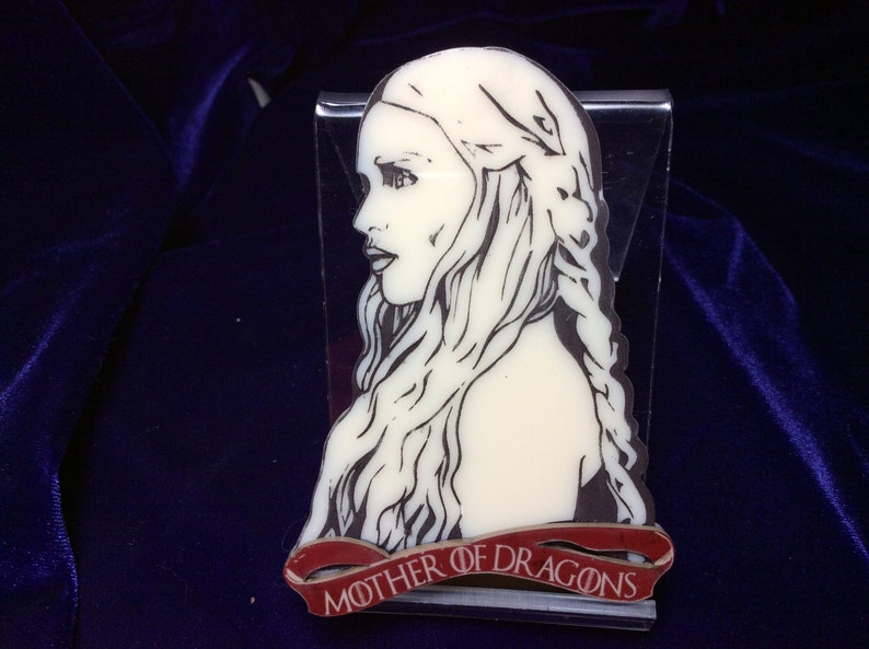 Mother of Dragons Brooch Winter is Gone