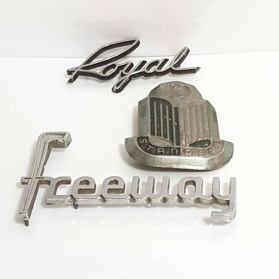 Silver Car Metal Crystal Hood Ornament Badge Emblem Luxury VIP JP Crown Gold