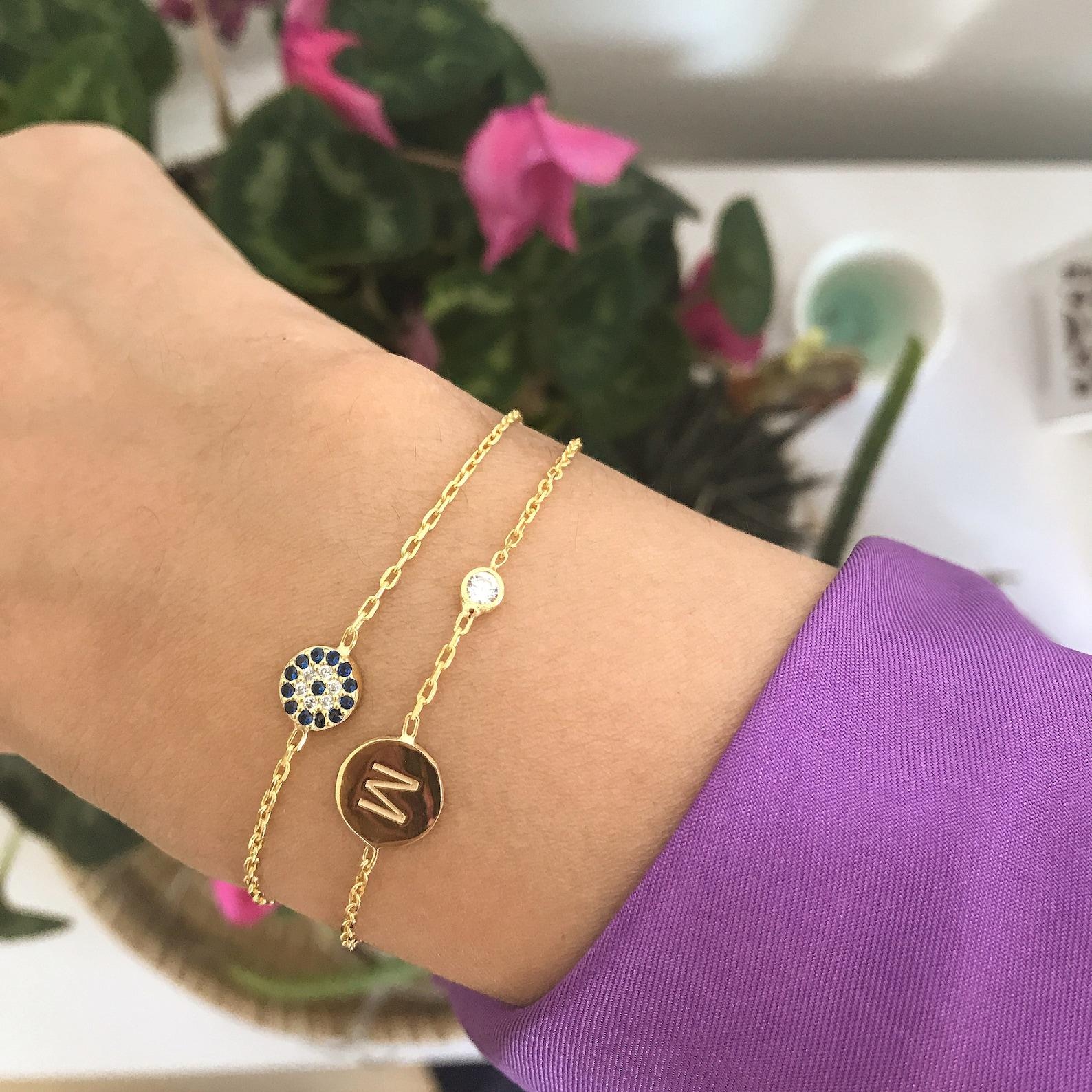 Birthstone Personalised Bracelet