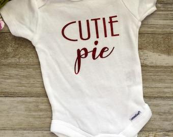 Newborn *cutie pie* onesie