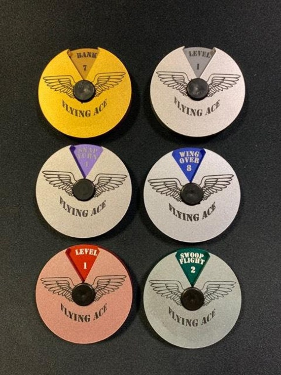 Aerial Combat Flying Ace Dials