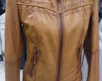 Real style  Lambskin Jacket