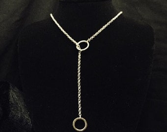 Hooked - 'Y' Necklace