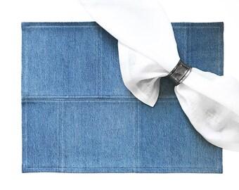 Tailored Placemat Set - Light Blue