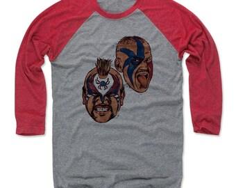 Legion Of Doom Men s Baseball T-shirt - Wrestling Legends Legion Of Doom  Head R 72c4d56fe