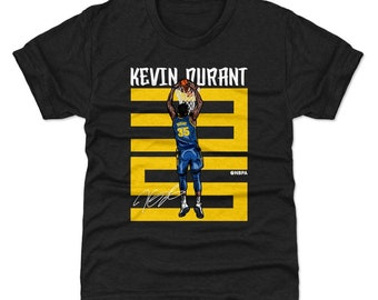huge selection of f84d3 388c7 Kevin Durant Kids T-Shirt   Golden State Basketball   Youth Shirt   Kevin  Durant Number Y WHT