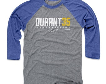 lowest price 61c2d ad4b2 Kevin Durant Shirt   Raglan   Golden State Basketball   Men s Baseball T- Shirt   Kevin Durant Durant35 W Wht