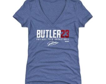 923e635aaf2 Jimmy Butler Women's Shirt | Philadelphia Basketball | Women's V-Neck | Jimmy  Butler Butler23 W WHT