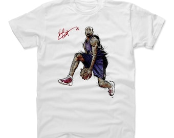 01ab8dcd152 Vince Carter Shirt | Toronto Throwbacks | Men's Cotton T-Shirt | Vince  Carter It's Over Signature P
