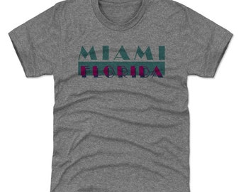 135ec457 Miami Youth Shirt | Florida Lifestyle | Kids T-Shirt | Miami Florida Vice