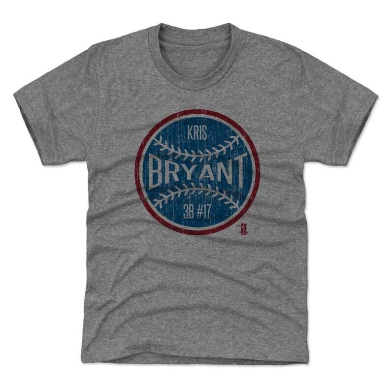 be8b29753 Kris Bryant Kids T-shirt Chicago C Baseball Youth Shirt | Etsy