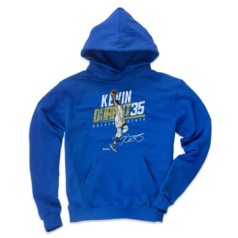 finest selection ef35d 2fdf5 Kevin Durant Hoodie | Golden State Basketball | Men's Hoodie | Kevin Durant  Slant Y Wht