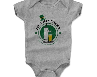 St. Patrick's Day Baby Clothes | Drinking Kids Baby Romper | I'd Tap That