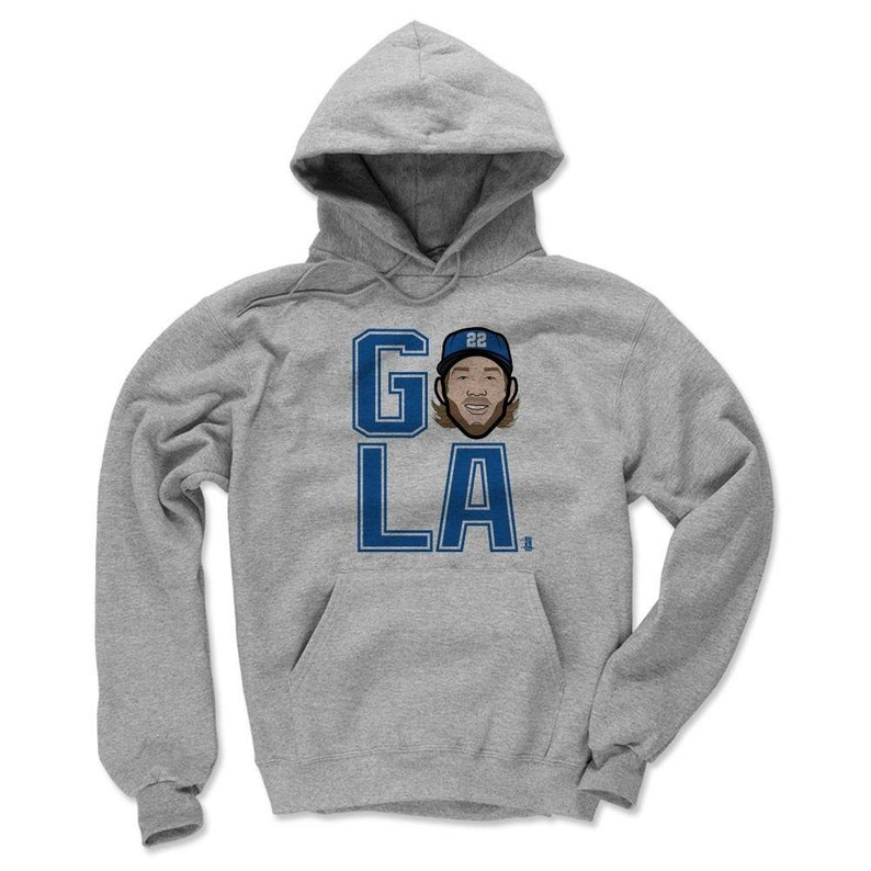 Men/'s Hoodie Clayton Kershaw Go La B Clayton Kershaw Hoodie Los Angeles D Baseball
