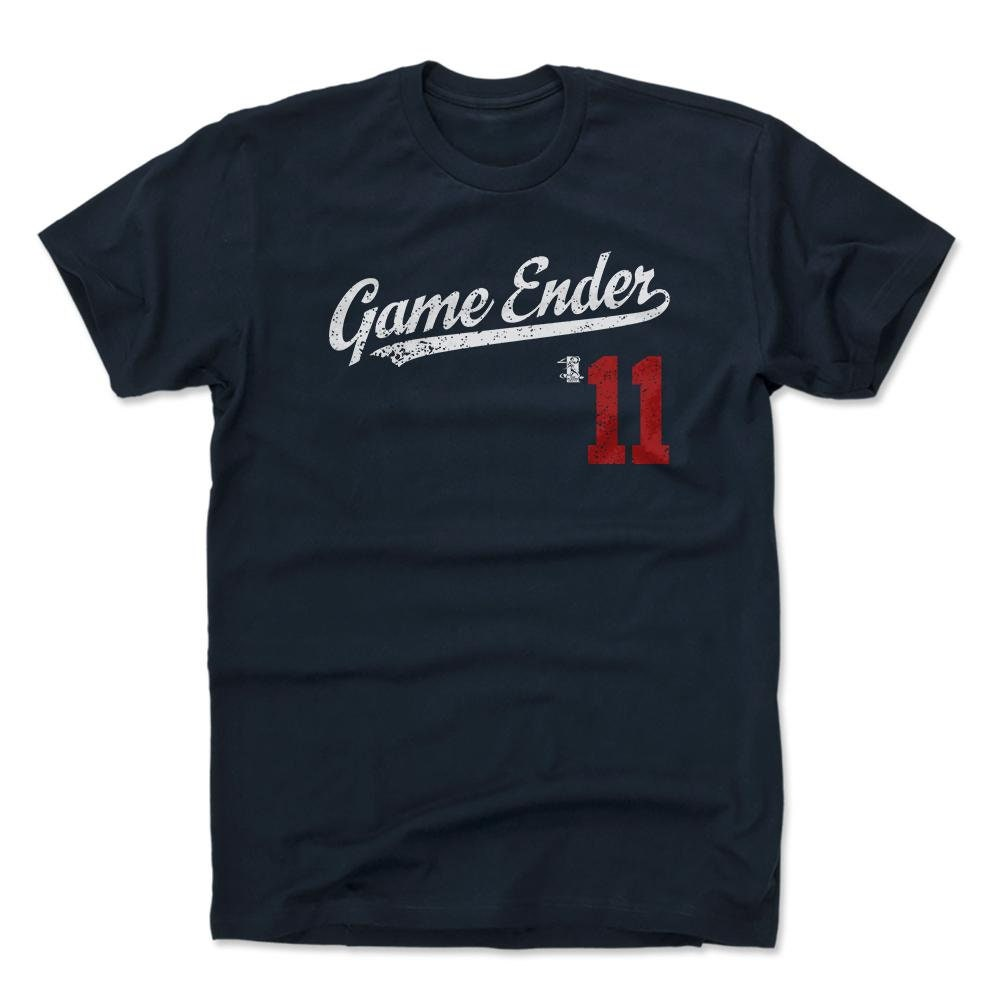 hot sale online c6382 e8a19 Ender Inciarte Shirt | Atlanta Baseball | Men's Cotton T-Shirt | Ender  Inciarte Game Ender Players Weekend Script R Wht