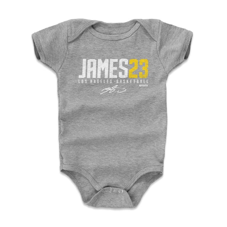 e8ec94c1dc4d LeBron James Youth Clothes Los Angeles L Basketball Baby