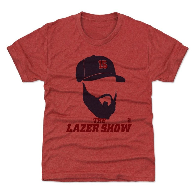 super popular f75ec 774c4 Dustin Pedroia Kids T-Shirt   Boston Baseball   Youth Shirt   Dustin  Pedroia Silhouette B
