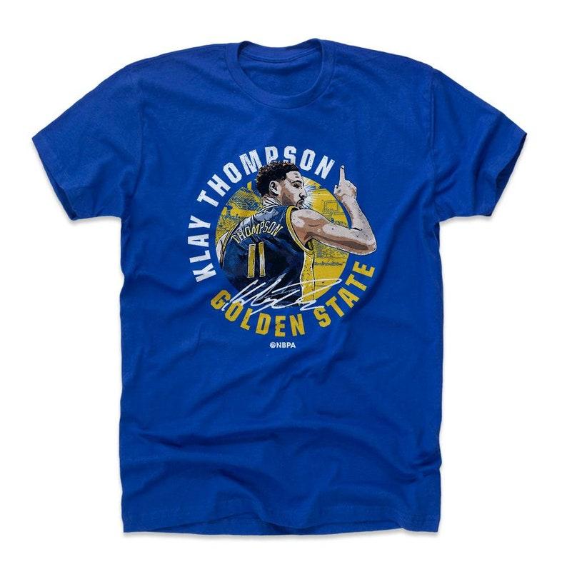 18854779eb1 Klay Thompson Shirt Golden State Basketball Men's | Etsy