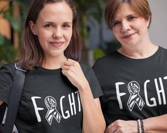 NET Neuroendocrine Carcinoid Cancer Awareness Shirt,  Zebra Ribbon T Shirt, Cancer Walk or Fundraiser, Group Shirts, Fight Survivor Shirt