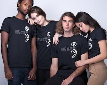 Suicide Awareness Short-Sleeve Unisex T-Shirt