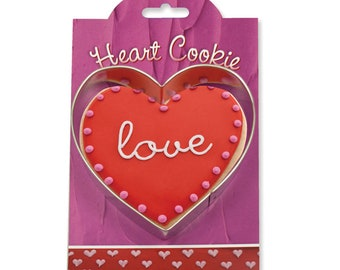 "Heart Cookie Cutter 4"" by Ann Clark"