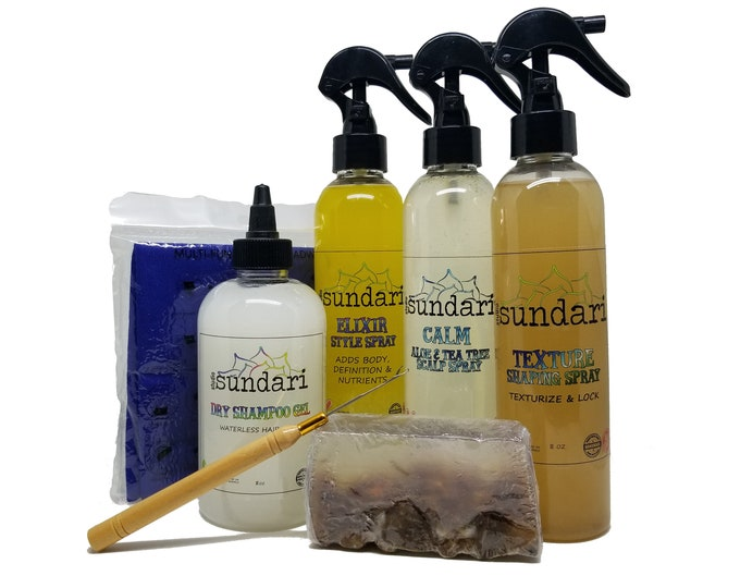 DREADLOCKS CARE KIT - All Hair Textures - Products for Maintaining Dreadlocks