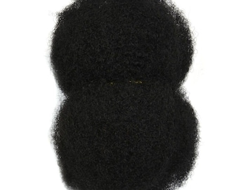 AFRO KINKY HAIR - 100% Human Hair -  Bulk - For Making Dreadlocks