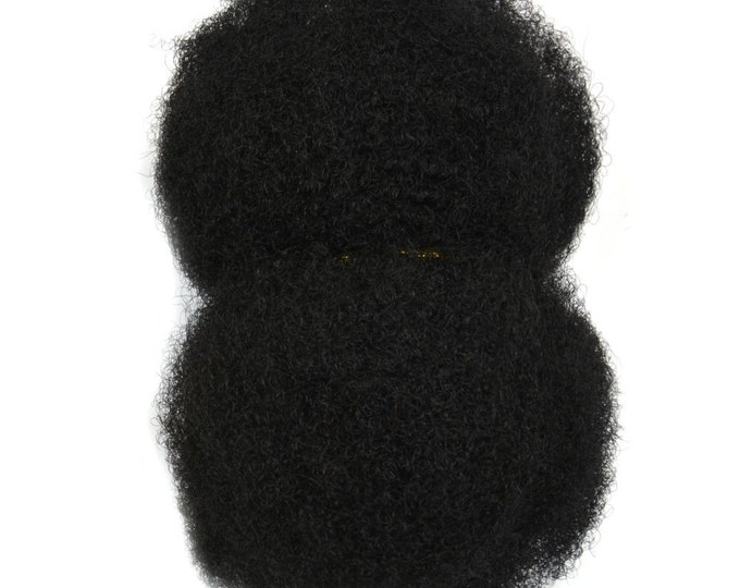 Afro Kinky 100% Human Hair Bulk - For Making Dreadlocks