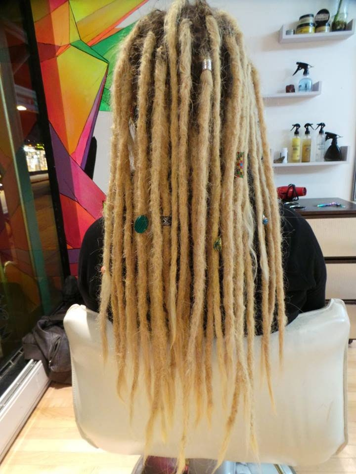 20 10 Pieces 100 Human Hair Permanent Dreadlock Extensions