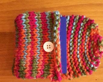 Hand Knit Change Purse