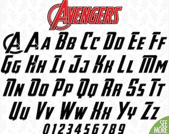 Superhero Font Svg Avengers Alphabet Font Svg School Font Svg Marvel Font Svg Avengers Birthday Svg Avengers Clipart Alphabet Font Svg Files Download 14545 Free Commercial Use Script Fonts