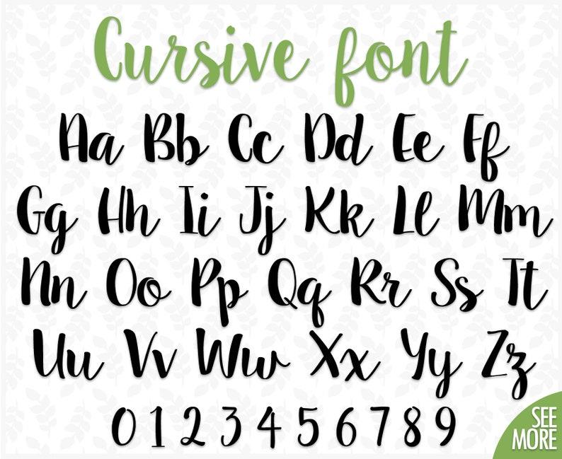 Cursive Font Svg Wedding Font Svg Calligraphy Font Svg Etsy
