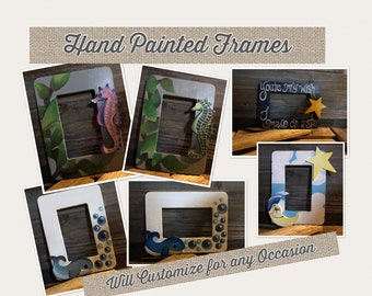 Hand Painted Picture Frames