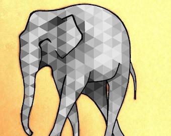 elephant dali design