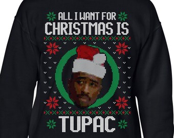2pac Sweater Etsy
