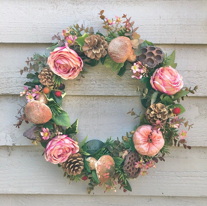 40cm Autumn sunrise door wreath/wall decor image 0
