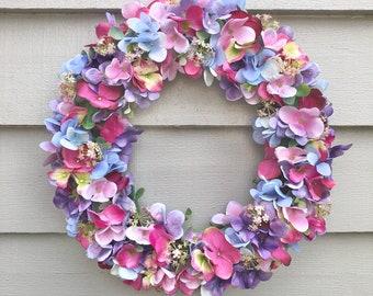 40cm 'Joy' door wreath/ table decoration
