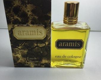 ARAMIS ARAMIS perfume. Eau de Cologne 120ml. Rare, vintage. Ferst edition 1970s.