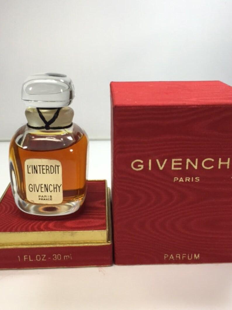 Linterdit Givenchy Pure Parfum 30ml Original 1960s Etsy