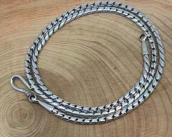 Sterling Silver Rope Style Chain