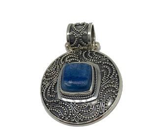 Kyanite Sterling Silver Pendant